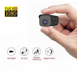 Smallest mini hidden night vision spy mini camera