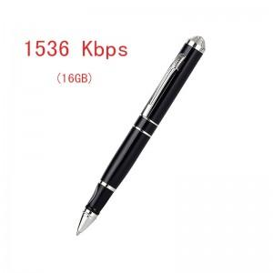 18 Hours Long Working MP3 player 1536 Kbps Spy Pen Mini Audio Voice Recorder WVR59 16GB